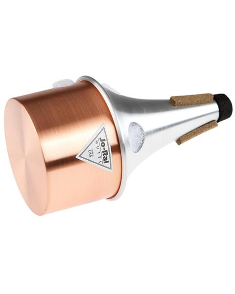 Jo-Ral 4C Aluminum/Copper Trumpet Bucket Mute Standard