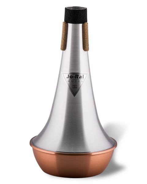 Jo-Ral Bass Trombone copper Bottom Straight Mute TRB4C