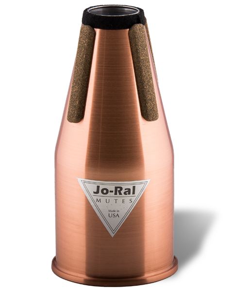 Jo-Ral French Horn Non-Transposing Copper Straight Mute FRC1
