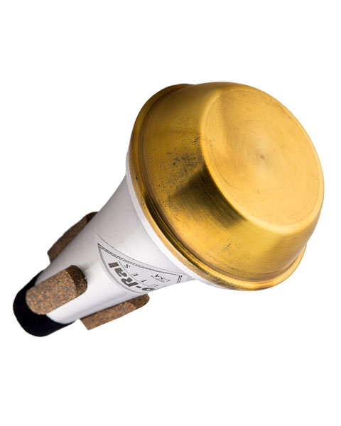 Jo-Ral Piccolo Trumpet Brass Bottom Straight Mute TPT5B