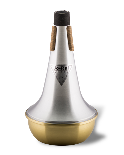 Jo-Ral Trombone Brass Bottom Straight Mute TRB1B