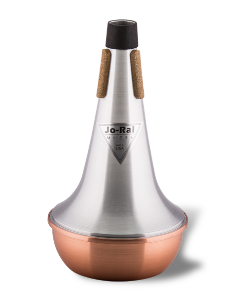 Jo-Ral Trombone Copper Bottom Straight Mute TRB1C