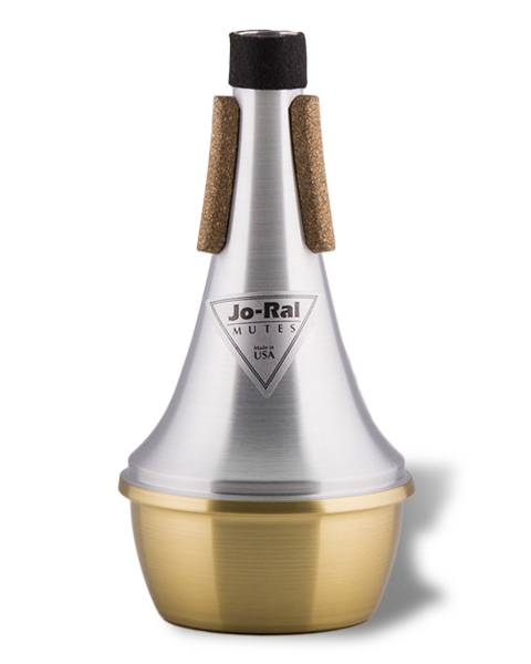 Jo-Ral Trumpet Brass Bottom Straight Mute TPT1B
