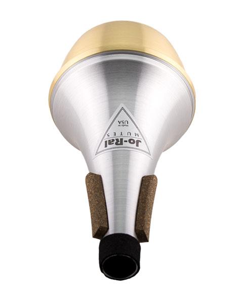 Jo-Ral Trumpet Brass Bottom Straight Mute TPT1B