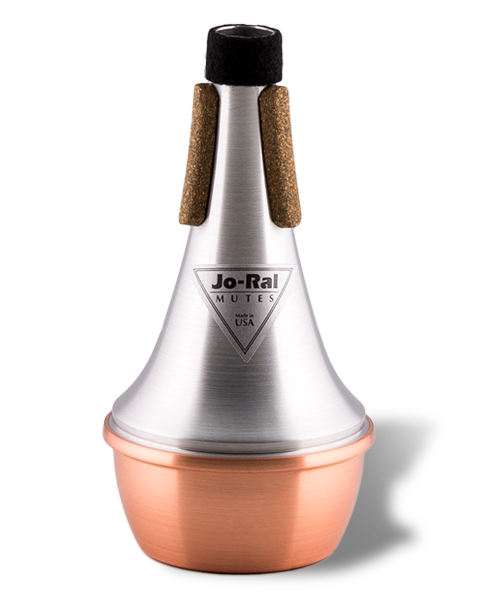 Jo-Ral Trumpet Copper Bottom Straight Mute TPT1C